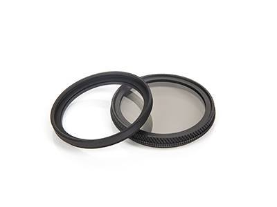 Polarisations - und UV filter (optional)
