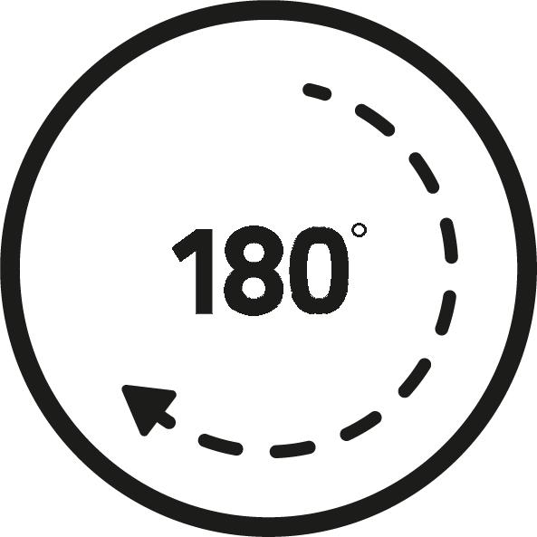 Otočenie o 180°