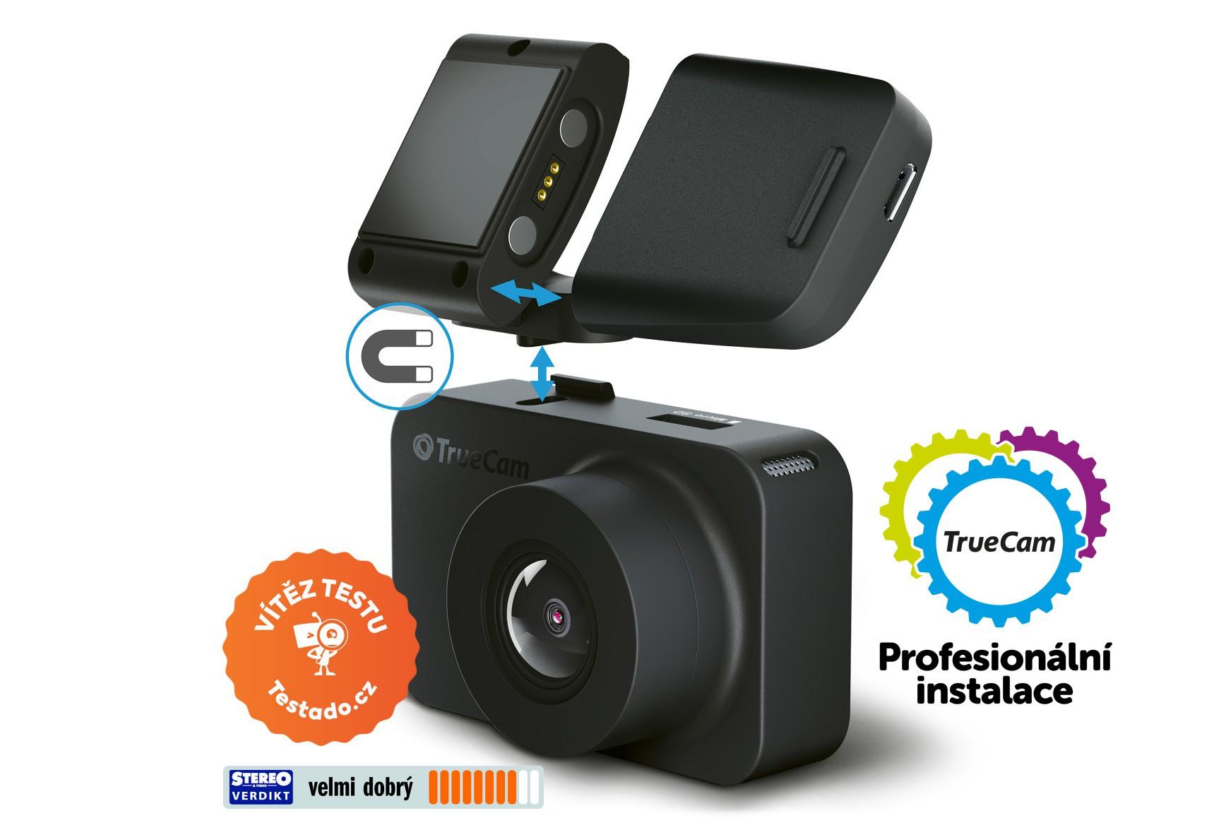TrueCam M5 GPS WiFi – Připravena na jedno cvaknutí