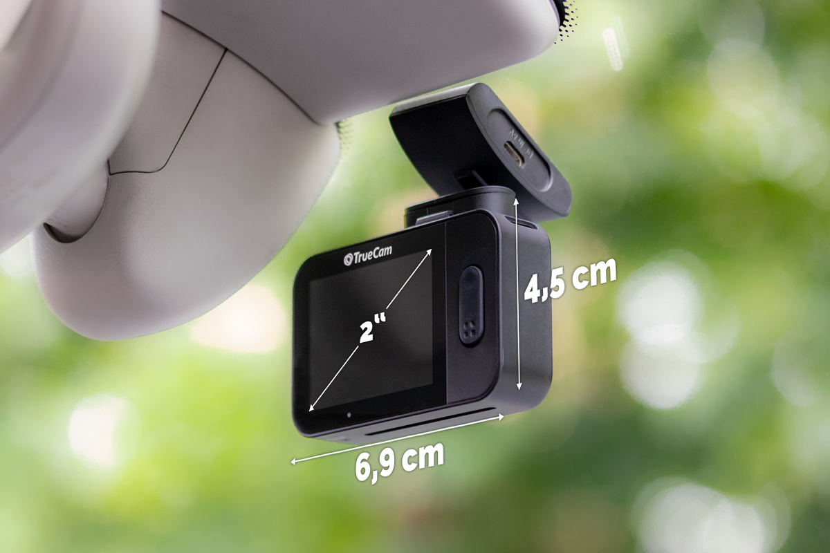 Perfectly-equipped dashcam