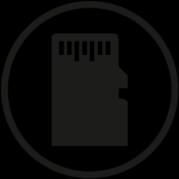 Podpora až 128GB Micro SD