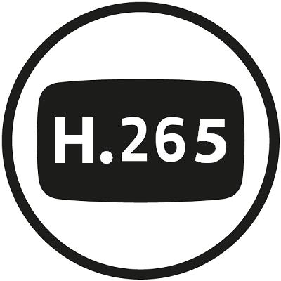 Kodek H.265 pro úsporu místa