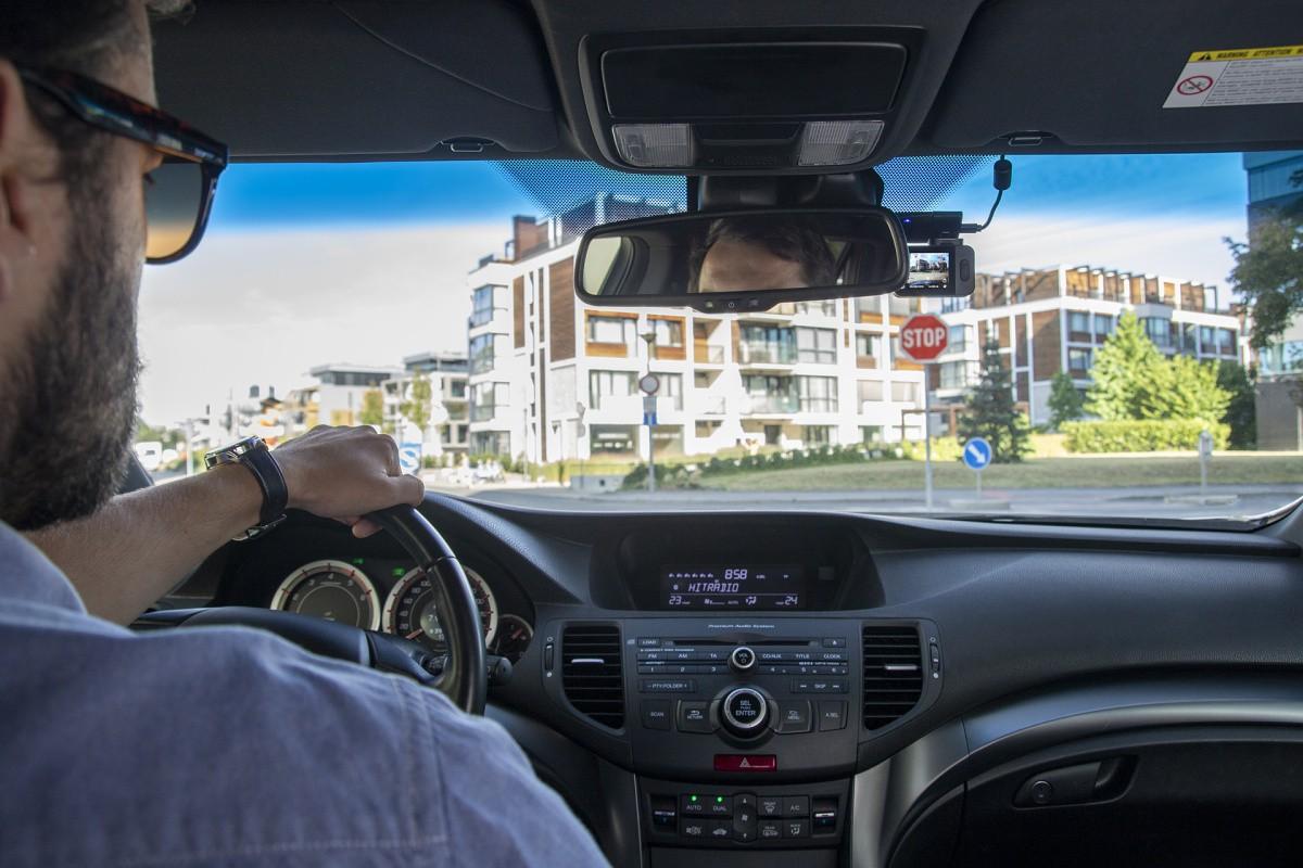 TrueCam M9 GPS 2.5K – Maximální detaily z každé jízdy