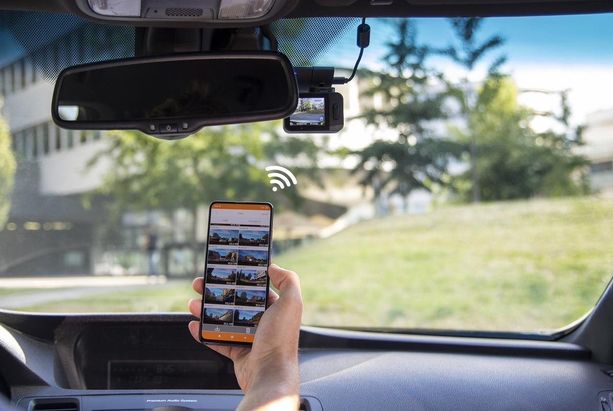 Bezdrátové ovládání z mobilu